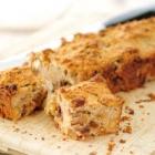 Appeltaart cake met noten