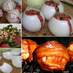 BBQ Onion bombs