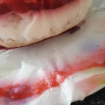 Griekse yoghurt taartjes met aardbeien topping en havermoutbodem ala Suzanne Kazemier-Atema
