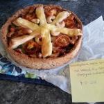 Koolhydraat-arme Quiche met broccoli, kip, champignons, tomaatjes en brie ala Eline van der Pol