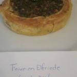 Quiche met Friese droge worst ala Feike-en Elfriede