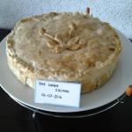 Kip-kerrie quiche met fruitige verrassing ala Joke Sophia Zielman