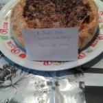 Blauwe Deense kaas-paprika-ui-spinazie Quiche ala Kees de Vries
