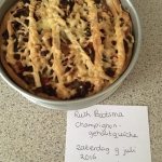 Champignon-gehakt quiche ala Ruth Bootsma